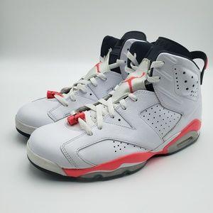 Nike Air Jordan 6 White/Infared size 11.5